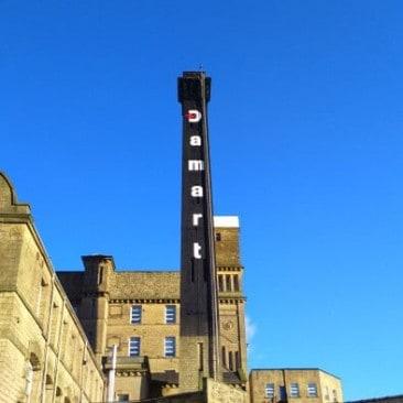 Damart chimney in Bingley