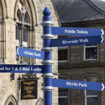 Bingley Sign Post