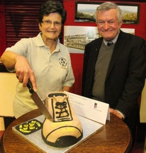 Walkers are Welcome in Bingley - Launch Event Cake