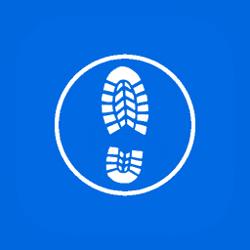 Icon Boot Print