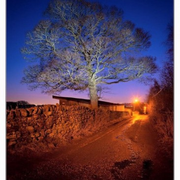Lode Pit Lane by Nigel Lumb