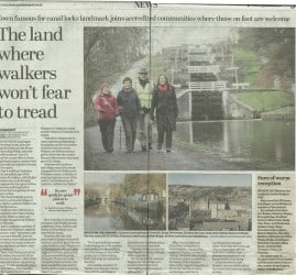 Yorkshire Post - 2015-01-20 - The land where walkers won't fear to tread