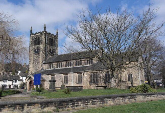 All Saints Church in Bingley
