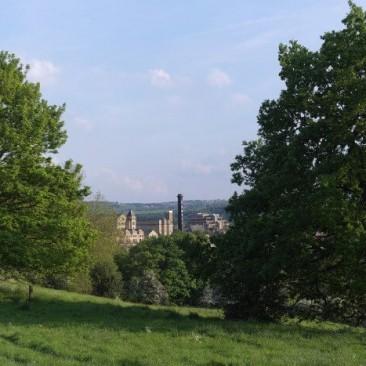 Bingley from Five Rise Locks