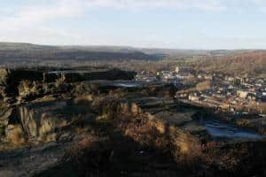 Discovering Bingley from Gilstead Crag