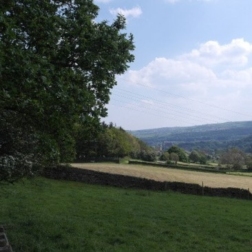 View of Bingley from Micklethwaite