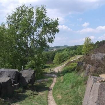 Gilstead Crag path