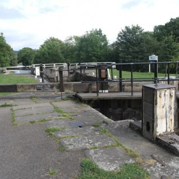 Hirst Lock on Leeds & Liverpool Canal