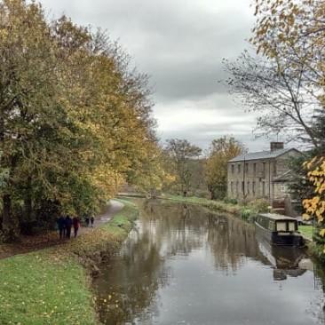 Dowley Gap in autumn