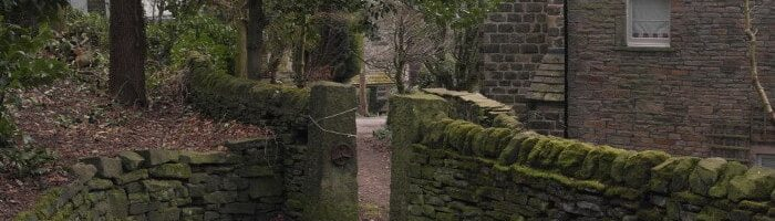 Fernhill entrance of Prince of Wales Park, Bingley