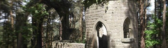 Saint David's Ruin near Harden