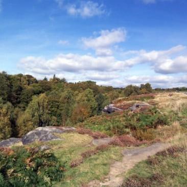 Shipley Glen bottom of Baildon Moor