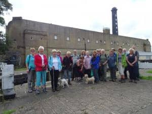 Bingley WaW - August 2016 - Sunday walk