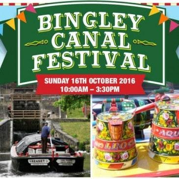 Bingley Canal Festival