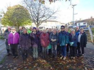 Bingley WaW - November 2016 - Sunday walk