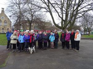 Bingley WaW - December 2016 - Sunday walk