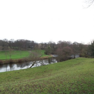 Above River Aire - View of Myrtle Park, Bingley