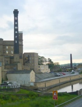 Bingley Damart Mill near the Canal