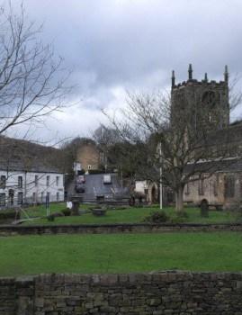 Bingley Old Street and All Saints Church