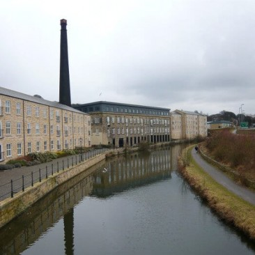 Britannia Wharf Mill in Bingley