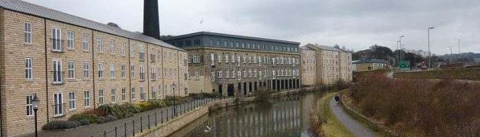 Britannia Wharf Mill in Bingley