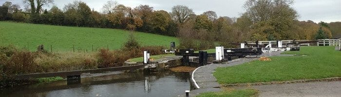 Dowley Gap Locks on Leeds & Liverpool Canal