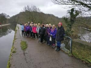 Bingley WaW - January 2017 - Sunday walk