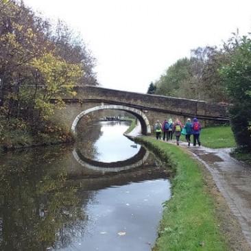 Primrose Lane bridge above Leeds & Liverpool Canal