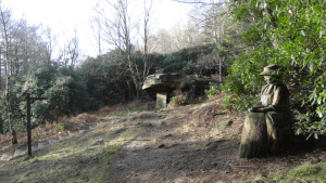Lady Blantyre's Rock in Bingley St Ives