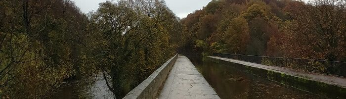 Seven Arches Aqueduct on Leeds & Liverpool Canal