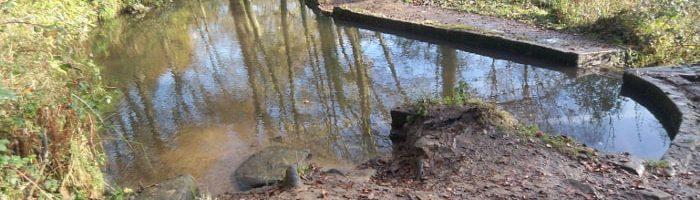 Baxter's Pond in St Ives Estate, Bingley