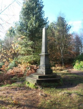 The Ferrand Obelisk in St Ives Estate, Bingley