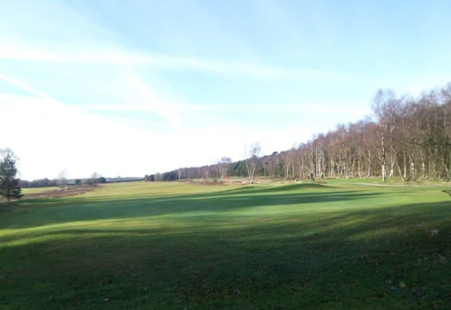 One of the holes at Bingley St Ives Golf Club