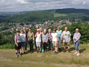Bingley WaW - July 2017 - Sunday walk