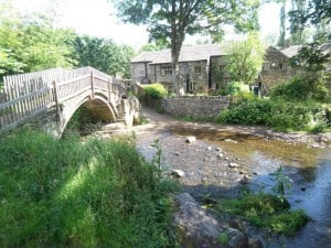 Pack Horse Bridge and Dwellings