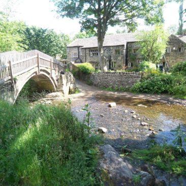 Pack Horse Bridge and Dwellings