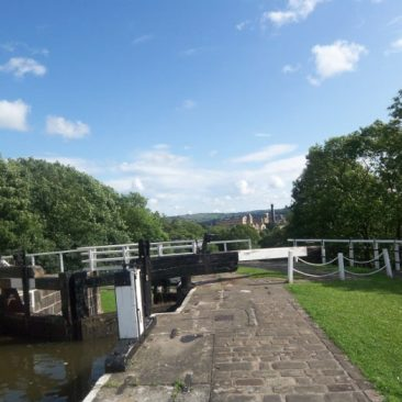 Top of Bingley Five Rise Locks