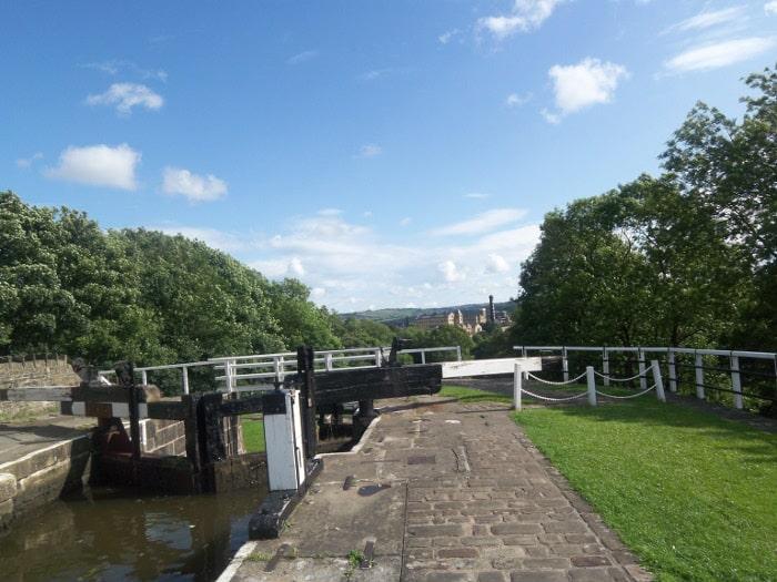 Top of Bingley Five Rise Locks