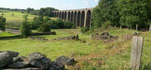 Panorama of Hewenden Viaduct