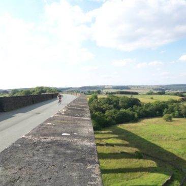 Top of Hewenden Viaduct - Great Northern Railway Trail