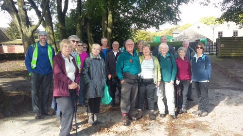 Bingley WaW - October 2017 - Sunday walk