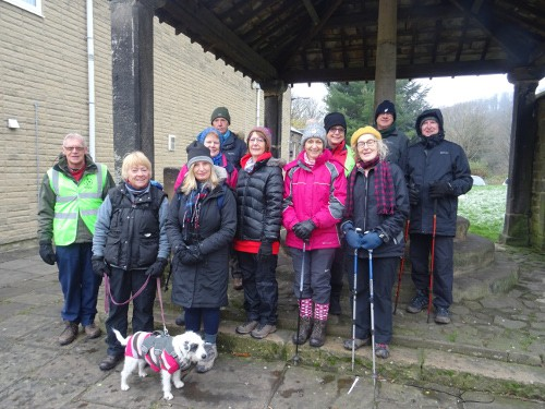 Bingley WaW - December 2017 - Sunday walk