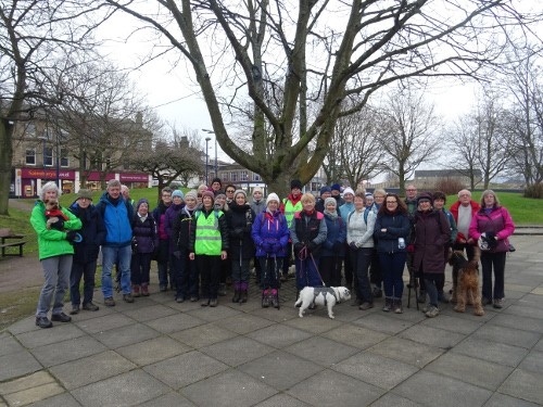 Bingley WaW - January 2018 - Sunday walk