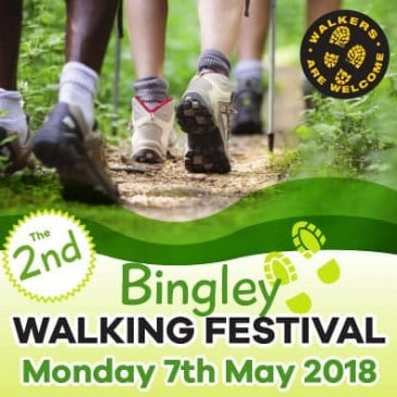 Bingley Walking Festival – Bank Holiday Monday May 7th
