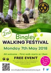 Bingley Walking Festival Leaflet 2018 - Page 1