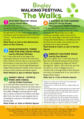 Bingley Walking Festival Leaflet 2018 - Page 2