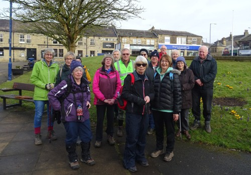 Bingley WaW - March 2018 - Sunday walk