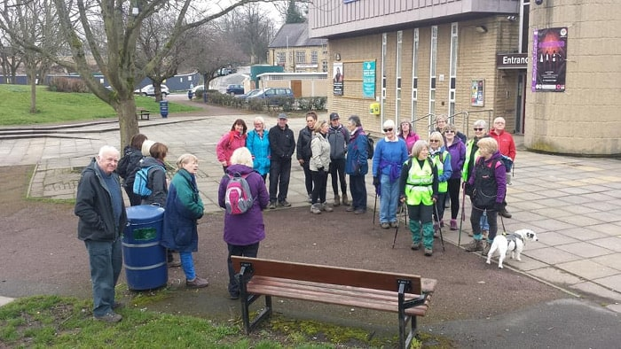 Bingley WaW - April 2018 - Sunday walk