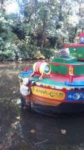 Canal Boat - The Anna