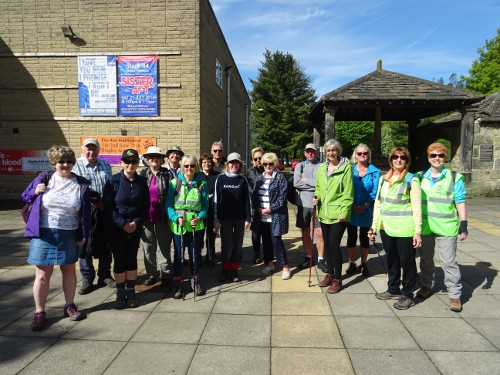 Bingley WaW - May 2018 - Sunday walk